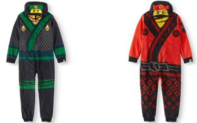 Walmart – LEGO Boy's Hooded Lego Ninjago Union Suit Onesie Pajama Sleep Set Only $13.50 (Reg $16.88) + Free Store Pickup