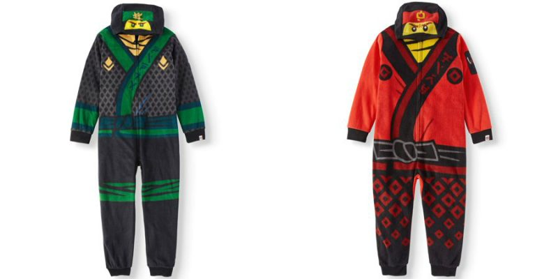 Walmart – LEGO Boy's Hooded Lego Ninjago Union Suit Onesie Pajama Sleep Set Only $13.50 (Reg $16.88) + Free Store Pickup