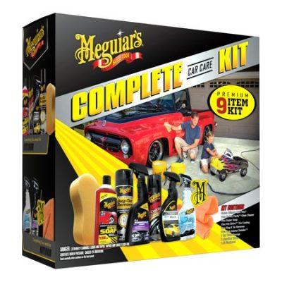 Walmart – Meguiar's 9-Piece Complete Car Care Kit Only $17.27 (Reg $19.88) + Free Store Pickup