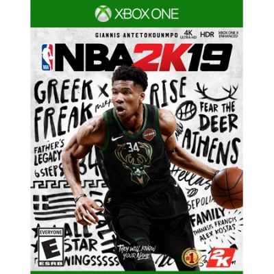 Walmart – NBA 2K19, 2K, Xbox One Only $39.95 (Reg $59.96) + Free 2-Day Shipping