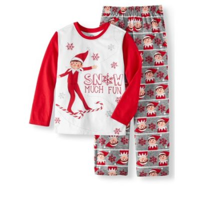 Walmart – Elf on the Shelf Boys' Christmas 2-Piece Pajama Sleep Set Only $10.50 (Reg $12.88) + Free Store Pickup