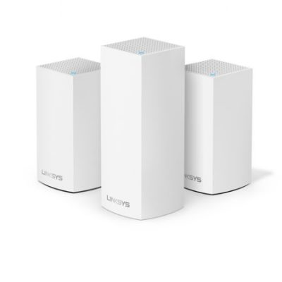 Walmart – Linksys Velop Tri-Band Whole Home Intelligent Mesh WiFi System Only $99.00 (Reg $349.00) + Free Shipping