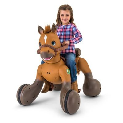 Walmart -12-Volt Rideamals Scout Pony Interactive Ride-On Toy by Kid Trax Only $298.00 (Reg $398.00) + Free Shipping