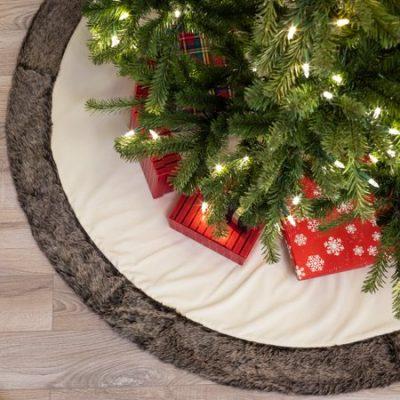Walmart – Belham Living Velvet Faux Fur Christmas Tree Skirt Only $14.99 (Reg $54.99) + Free Store Pickup