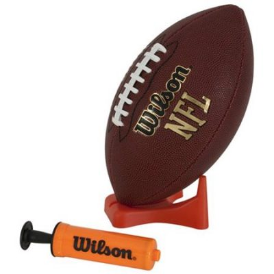 Walmart – Wilson NFL Junior Football with Pump and Tee Only $12.00 (Reg $20.99) + Free Store Pickup