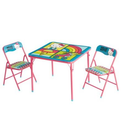 Walmart – Hello Kitty 3 Piece Table and Chair Set Only $20.99 (Reg $29.99) + Free Store Pickup