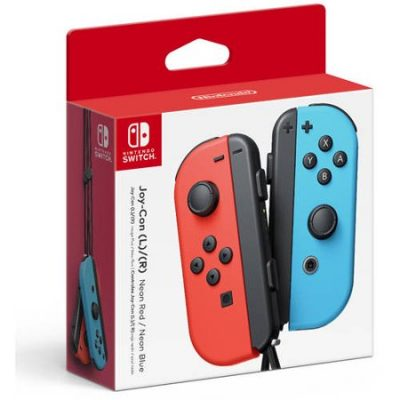 Walmart – Nintendo Switch Joy-Con Pair (L/R), Neon Red and Neon Blue Only $70.48 (Reg $79.00) + Free 2-Day Shipping