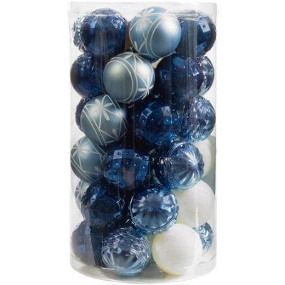 Walmart – Holiday Time 41-Piece Shatterproof Ornament Set Only $4.99 (Reg $9.48) + Free Store Pickup