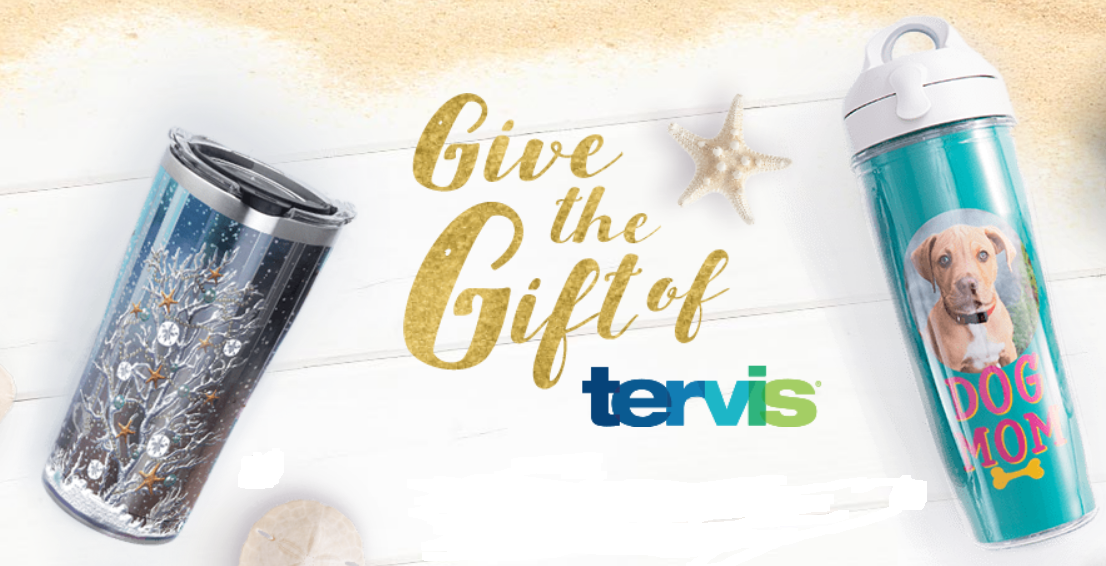 Tervis Tumblers 20% Off + Free Shipping + Possible Free Tumbler Mystery Gift!