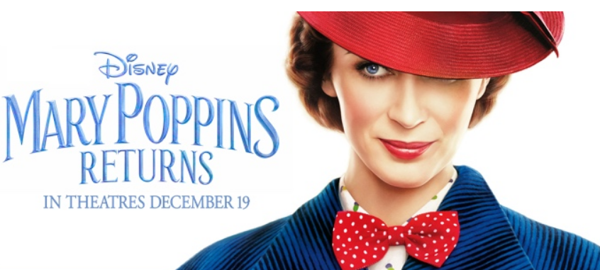 FREE Mary Poppins Returns Movie Ticket w/Purchase Of Subway Fresh Fit For Kids Meal