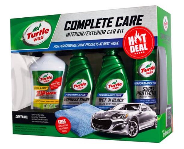 Walmart.com – Turtle Wax Car Care Kit Only $10, Reg $24.97 + Free Store Pickup!