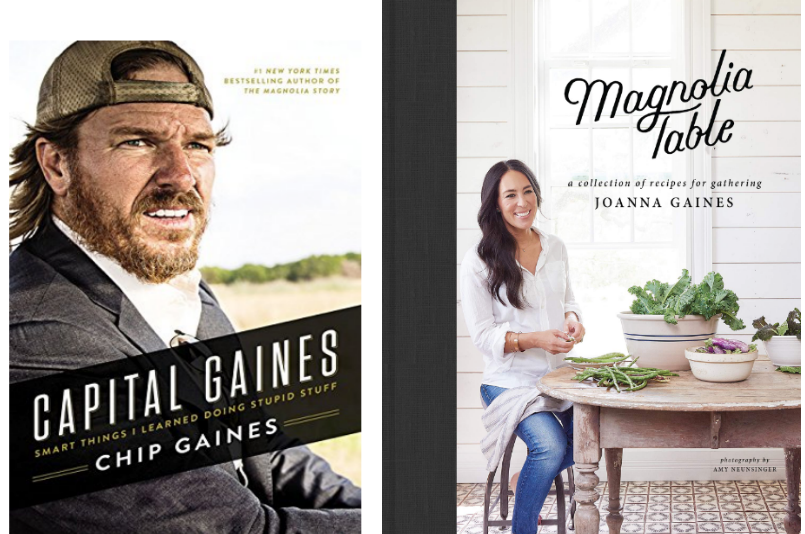Amazon – $5 Off $20+ Book Purchase – Get Magnolia Table AND Capital Gaines For Only $20.18 + Free Shipping!