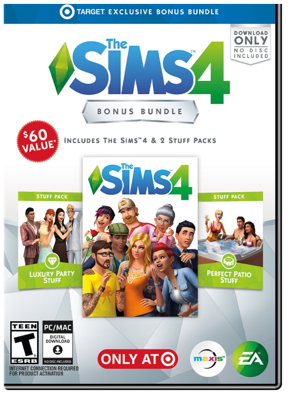 Target.com – Exclusive Sims Bundlefor PC Only $9.99, Reg $39.99 (75% off) + Free Shipping!