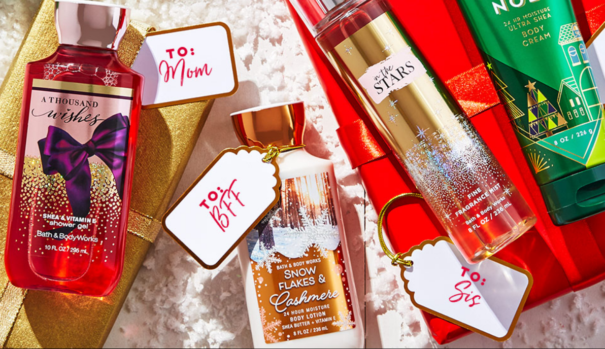 Bath & Body Works – Buy 3Select Body Care Items & Get 4 Free
