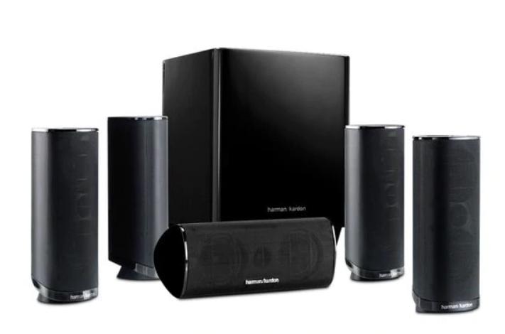 Harman Kardon HKTS 16 5.1-Ch Home Theater Speaker System Only $170, Reg $599.95 + Free Shipping!