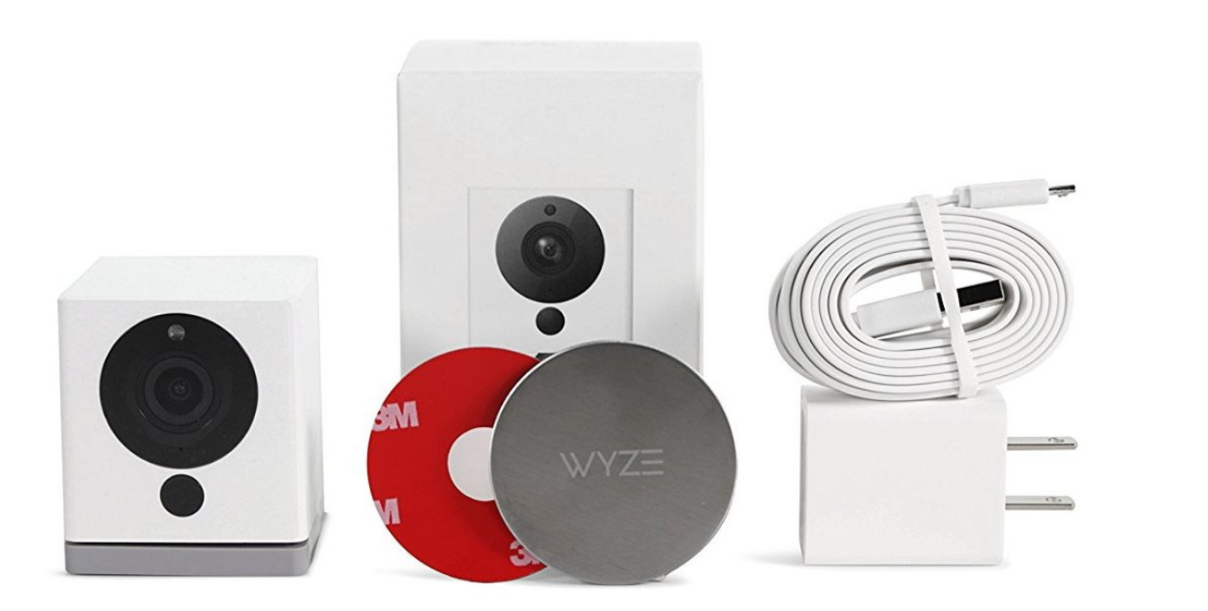 Amazon - Wyze Cam HD Indoor Wireless Smart Home Camera w