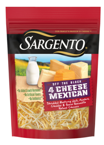 Publix – Sargento Shredded Cheese 5-8 oz Only $1.40 Each, Reg $4.29 (PRINT YOU COUPONS NOW!)