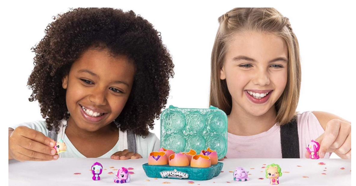 Amazon – Hatchimals CollEGGtibles Hatch and Seek 6-Pack Egg Carton Only $3.99, Regularly $13 + Free Shipping!