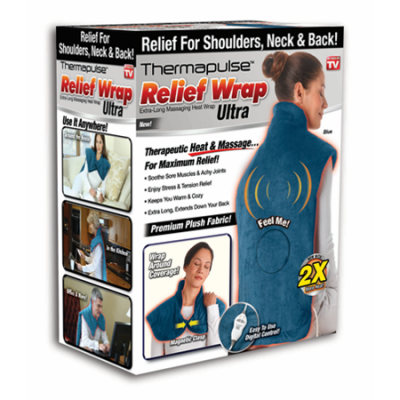 Walmart – NEW! Relief Wrap ULTRA, Heat and Massage Therapy Wrap Only $44.88 (Reg $59.88) + Free 2-Day Shipping