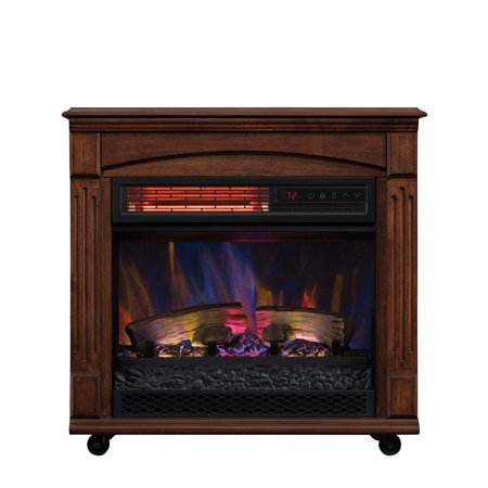 Walmart Chimneyfree Electric Fireplace Space Heater Only