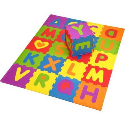 Walmart – Spark. Create. Imagine. 28- Piece Interlocking Tile ABC Soft Foam Playmat Only $9.99 (Reg $13.88) + Free Store Pickup