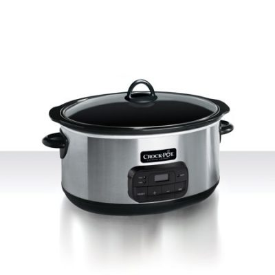 Walmart – Crock-Pot Programmable Slow Cooker Only $44.94 (Reg $69.99) + Free Shipping