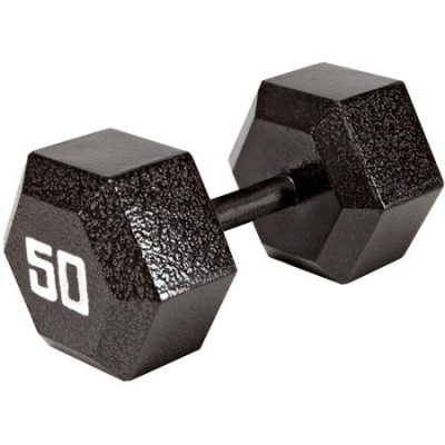Walmart – Marcy 50 lb EcoWeight Iron Dumbbell Only $39.00 (Reg $52.99) + Free 2-Day Shipping