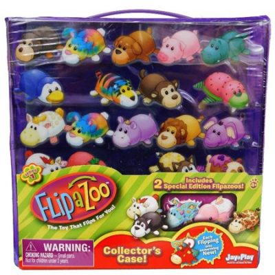 Walmart – Flip a Zoo™ Collector's Case 3 pc Pack Only $7.88 (Reg $9.99) + Free Store Pickup
