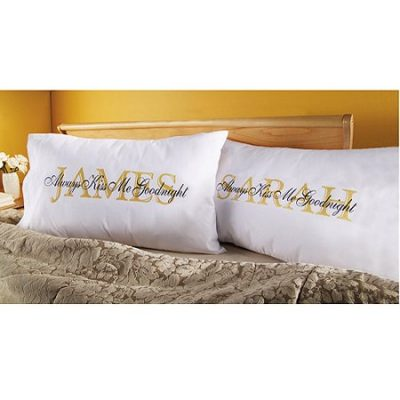 Walmart – Personalized Always Kiss Me Goodnight Pillowcase – Set of 2 Only $19.98 (Reg $24.98) + Free Store Pickup