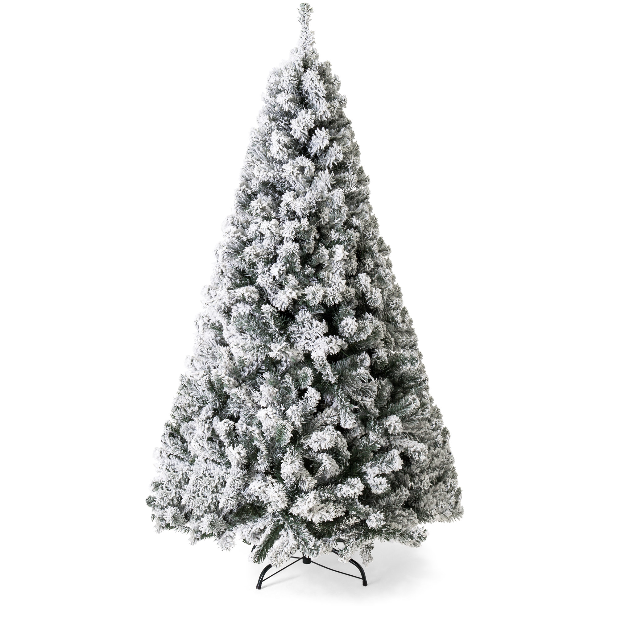 Walmart – Best Choice Products 7.5ft Premium Snow Flocked Hinged Artificial Christmas Pine Tree Only $133.99 (Reg $243.99) + Free 2-Day Shipping