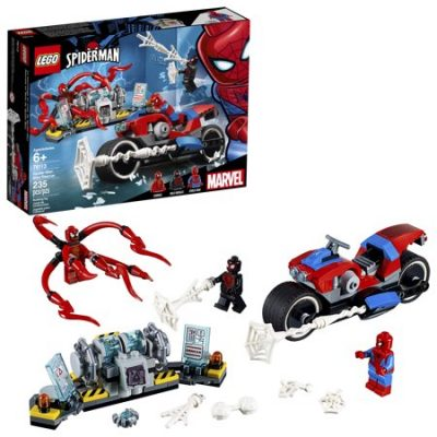 Walmart – LEGO Super Heroes Marvel Spider-Man Bike Rescue Only $15.99 (Reg $19.99) + Free Store Pickup