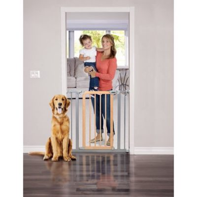 Walmart – Baby Trend Pressure Fit Wood & Metal Safety Gate Light Hardwood Only $36.11 (Reg $52.95) + Free 2-Day Shipping
