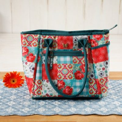 Walmart – The Pioneer Woman Patchwork Lunch Tote w/ Hydration Bottle Only $13.88 (Reg $19.98) + Free Store Pickup