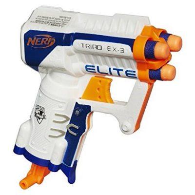 Walmart – Nerf N-strike Elite Triad Ex-3 Only $7.98 (Reg $9.99) + Free Store Pickup
