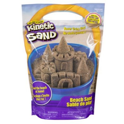 Walmart – The One and Only Kinetic Sand 3lbs Beach Sand for Ages 3 and Up Only $12.97 (Reg $14.97) + Free Store Pickup