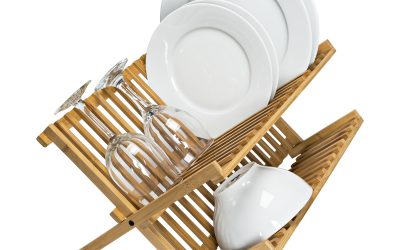 Walmart – Honey Can Do 2-Tier Bamboo Dish Drying Rack Only $16.78 (Reg $20.98) + Free Store Pickup