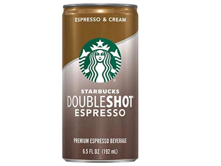 Amazon – 12 Pack of 6.5oz Starbucks Doubleshot (Espresso + Cream) Only $12 + Free Shipping!