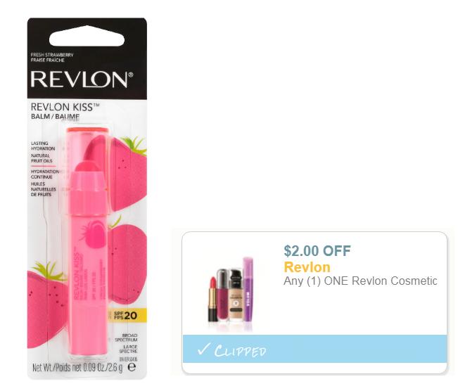 photo about Revlon Printable Coupon called Emphasis - New Strawberry Revlon Kiss Lip Balm Merely 77