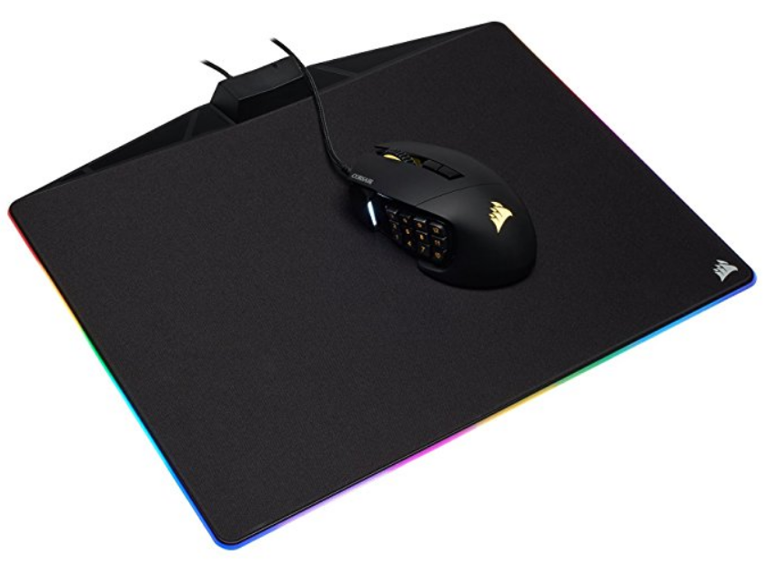 Amazon – Corsair Gaming MM800C Polaris RGB LED Cloth Surface Mouse Pad Only $38 + Free Shipping!