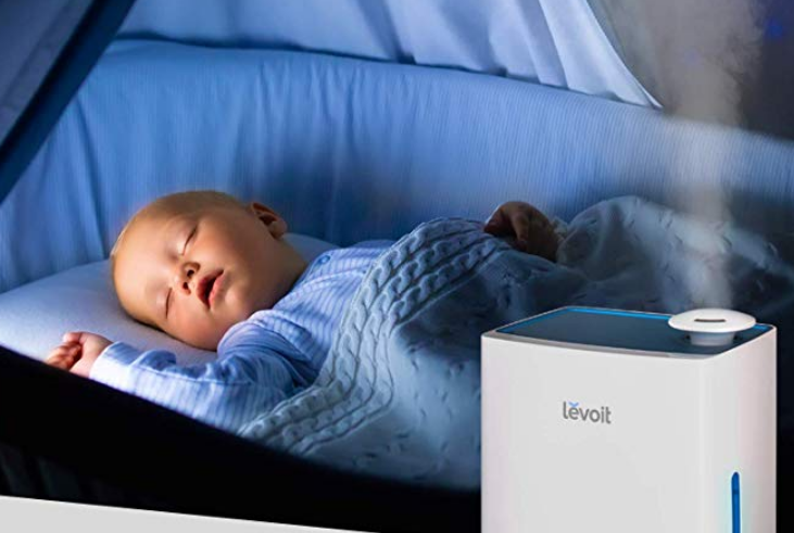 Amazon – Levoit 4.5L Ultrasonic Cool Mist Humidifier Only $27 + Free Shipping!