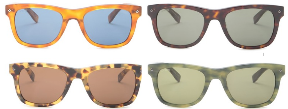 Lacoste 52mm Square Sunglasses $29.97, Reg $196.00