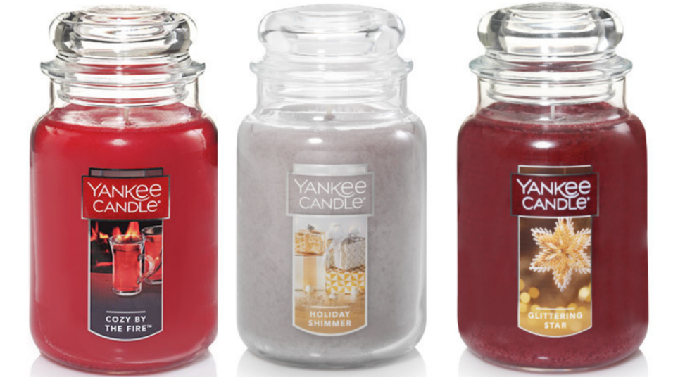 Yankee Candle – Large Jar Candles Only $7.38, Reg $29.50 (75% Off)