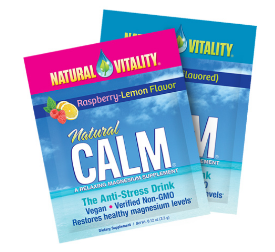 Free Sample Packet of Natural CALM