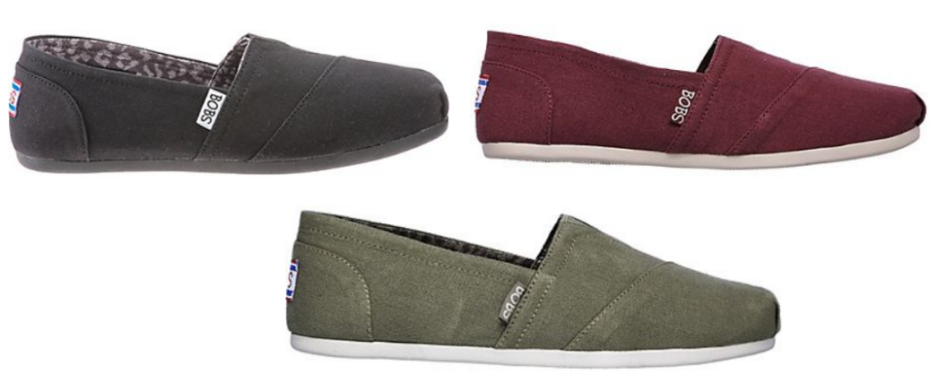 SKECHERS Women's BOBS Plush Peace and Love Casual Shoes Only $19.99, Reg $29.99!