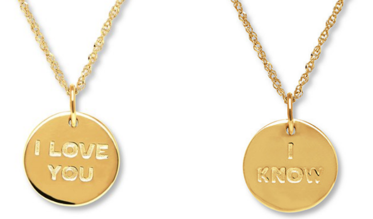 Kay.com – Take An Additional 50% Off Already Discounted Jewelry = Star Wars 10K Yellow Gold Necklace Only 65.99, Reg $249.00 + Free Shipping!