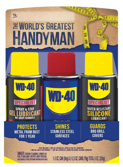 Lowes.com – WD 40 8-oz Lubricant Gift Pack Only $2.49,Reg $9.97 + Free Store Pickup!