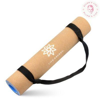 Walmart – Life Energy 5mm EkoSmart Cork Yoga Mat with Yoga Strap Only $34.99 (Reg $49.99) + Free Store Pickup