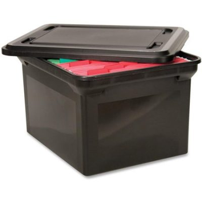 Walmart – Advantus File Tote Storage Box w/Lid Legal/Letter Plastic Only $17.46 (Reg $18.70) + Free Store Pickup
