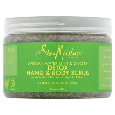 Walmart – Shea Moisture African Water Mint & Ginger Detox Hand & Body Scrub Only $9.20 (Reg $11.99) + Free Store Pickup
