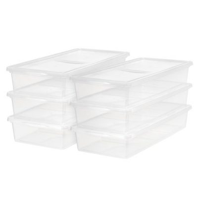 Walmart – Mainstays 41 Quart/10.25 Gallon Underbed Box Storage Only $49.95 (Reg $64.66) + Free 2-Day Shipping